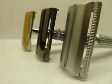 TRADITIONAL WEISHI SAFETY RAZOR + 5 FREE BLADES AND A CHOICE OF 3 COLOURS
