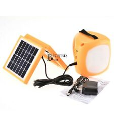 LED Light Lantern Cell Phone Charger Solar Rechargeable Emergency Camping Lamp
