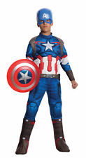 Captain America Child Muscle Costume Bodysuit Marvel Avengers Age Of Ultron