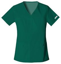 Cherokee Scrubs Flexibles V Neck Scrub Top 2968 Hunter Green