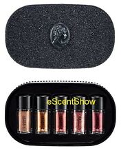 NIB MAC OBJECTS OF AFFECTION PIGMENTS + GLITTER 5PC GIFT SET - CHOOSE COLORS