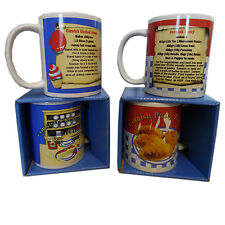 Cornish Kernow Recipe Mug 2 Choices Cornish Pasty/Cornish Cream Tea Gift