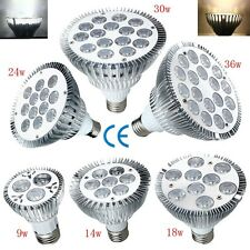 E27 LED Flood Light Bulb Lamp Dimmable 3/9/14/18/24/30/36W PAR20 PAR30 PAR38