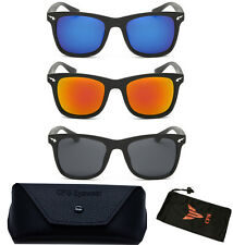 New & Latest Revo Mirror Lens Wayfarer Retro Sunglasses Eye Glasses + Free Case