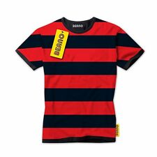 Dennis the Menace Striped Grown-Ups T-Shirt - Adult Mens - Official Beano