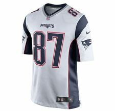 Rob Gronkowski #87 New England Patriots Jersey Mens Stitched - NWT Silver
