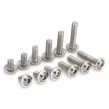 New Type M6 A2 Stainless Steel Flanged Button Head Bolts Hex Socket Allen Screws
