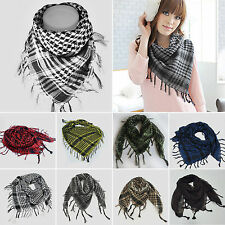 Unisex Military Arab Tactical Desert Keffiyeh Shemagh Scarf Shawl Neck Headwrap