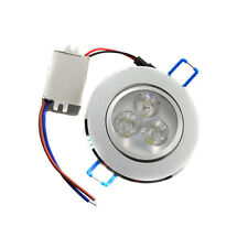 3W LED Recessed Ceiling Light Dimmable Downlight Warm Cool White Lamp Spot Light