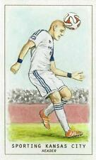 2015 Topps Major League Soccer MLS 'Monty Sheldon Sketch Originals' MSCR-1 to 15