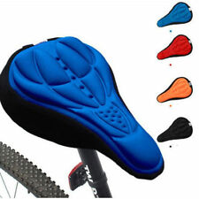 Cycling Bicycle Bike Soft Cushion 3D Gel Silicone Seat Pad Saddle Cover Case HS