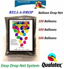 Reli-A-Drop Latex Balloon Drop Net / Kit, Wedding, Birthday, Party Events