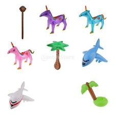 Inflatable Blow Up Decoration Toy Kids Party Supply Gift Animal Plane Tree Toy