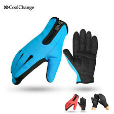 Coolchange Full Finger Cycling Racing Gloves MTB Bicycle Riding Gloves Windproof