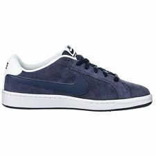 Nike Court Royale Prem Leather Navy White Mens Trainers
