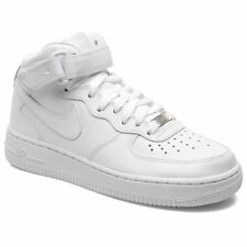Nike Air Force 1 Mid White White Womens Trainers