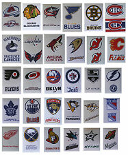 NHL Hockey Decal Stickers Team Logos 2 Stickers per card - Choose from 30 Teams