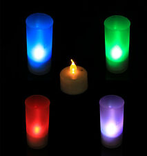 Led Electronic Candle Night Light Sound Sensor Control Small Gift Home Adorn HG