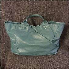 Marc by Marc Jacobs Teal Leather Tote
