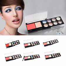 8 Colors Diamond Style Eye Shadow Combined With Blush Palette Basic Make Up BE