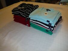 Women's Long Sleeve V-Neck Sweaters GAP 2XL,XL,L,M,S Multi Color Striped & Solid