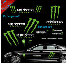 New Monster Energy Drink Car reflective stickers for one set cool racing decals