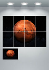 Mars The Red Planet Space Large Wall Art Poster Print