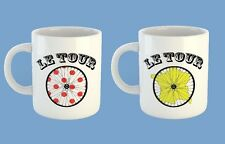 Tour De France KOM Yellow Jersey Maillot Jaune Cycling Mug