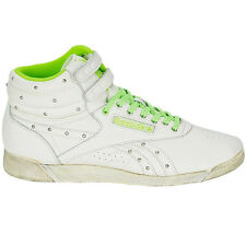 Reebok Women'S Sneakers Freestyle Hi Shoes High-Top White Vintage Trainers For/S