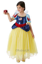 Disney Premium Snow White Fancy Dress Costume Girls White Disney Costumes