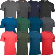 2017 Under Armour Charged Cotton Sportstyle Mens Training Shirt -Left Chest Logo