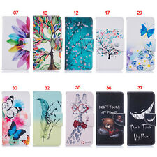 Feather Wallet Leather Flip Case Cover ID Slots For Samsung Galaxy J710/J5 Prime