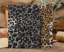 New Folio Cool Leopard Stand PU Leather Smart Case Cover Screen Protector