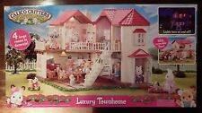 Calico Critters Luxury Townhouse W/Box - Demo Sample - Excellent Condition!