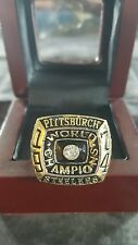 Pittsburgh Steelers Super Bowl IX Championship Ring 74-75