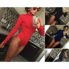 Women's Jumpsuits Rompers High Collar Nightclub Long Sleeve Bodysuits Playsuits