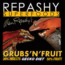 Repashy Grubs 'N' Fruit Gecko Diet Bearded Dragon Crested Gecko Reptile Lizar...