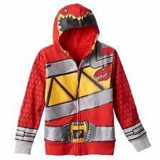Power Rangers Dino Charge Hoodie Red Ranger Size's 4  NWT $38 RV