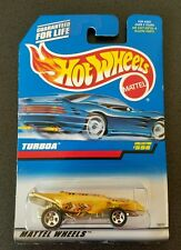 New! Hot Wheel-Turboa-Yellow Snake w/Red, Black & Silver- Collector #598- #18550