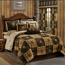 NEW Browning® Country Quilt Bedding Comforter Set or Bed in Bag w/Sheets~4 Sizes