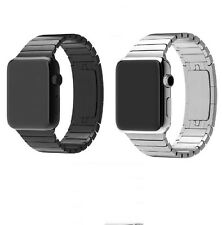 CHEAP XMAS 316L Link Bracelet Stainless Steel Watch Band Strap For Apple Watch