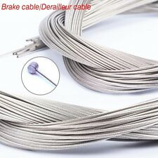 Bicycle Derailleur Brake Cable Sturdy MTB Road Bike Front/Rear Inner Wire 5PCs