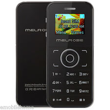 MELROSE M1 1.0 inch OLED Screen Card Cell Phone Bluetooth FM Alarm Calculator