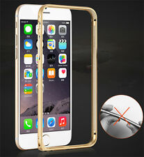 For iPhone 7 6 6S Plus 5 SE Luxury Ultra Metal Aluminium Alloy Bumper Frame Case