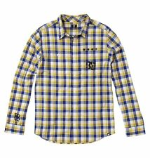 DC Shoes Travis Pastrana 199 Plaidstrana Long Sleeve Casual Shirt