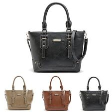 Fashion Women Hobo Leather Messenger Crossbody Shoulder Bag Purse Handbag Tote