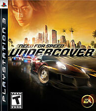 Need for Speed: Undercover (Sony PlayStation 3, 2008) COMPLETE