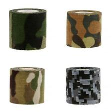 5M Long Camouflage Camo Wrap Adhesive Tape For Outdoor Cycling Hunting Camping