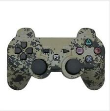 Camouflage Wireless Bluetooth Game Controller Joystick Analog Dual-shock For PS3