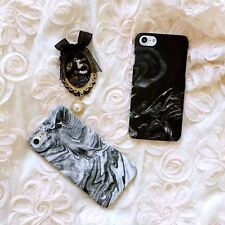 Slim Smoke Marble Pattern Frosted Hard Back Case For Apple iPhone 7 7Plus 6Plus